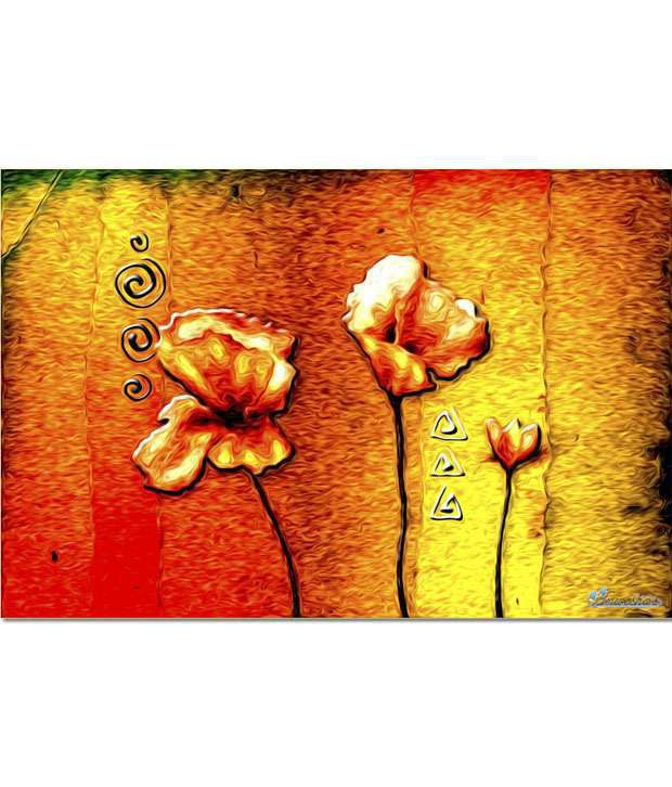 Anwesha's Gallery Wrapped Digitally Printed 30x20 Inch - 081 Canvas Painting With Frame