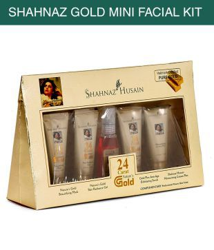 Shahnaz Husain Gold Facial Kit 40g 15ml Pack Of 5 Buy Shahnaz Husain Gold Facial Kit 40g 15ml Pack Of 5 At Best Prices In India Snapdeal