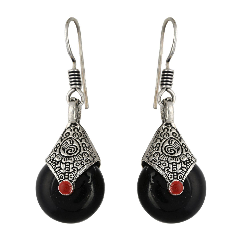 AD JEWELS Oxidized Lightweight Fashion Designer Jewellery Dangle & Drop Earring For Women's & Girls Beauty Best Gift Ever