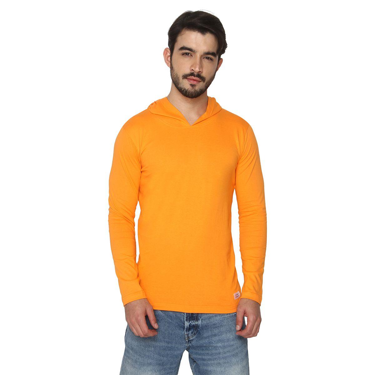 Foryou Orange Hooded T-Shirt