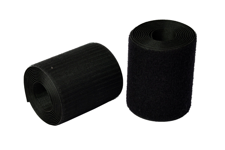 Industrial Quality Hook  amp; Loop Fastner Tape ,100 mm   4 inch   width, pack of 2 mts