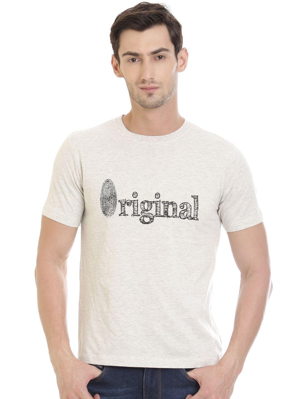 VUDU White Round T-Shirt