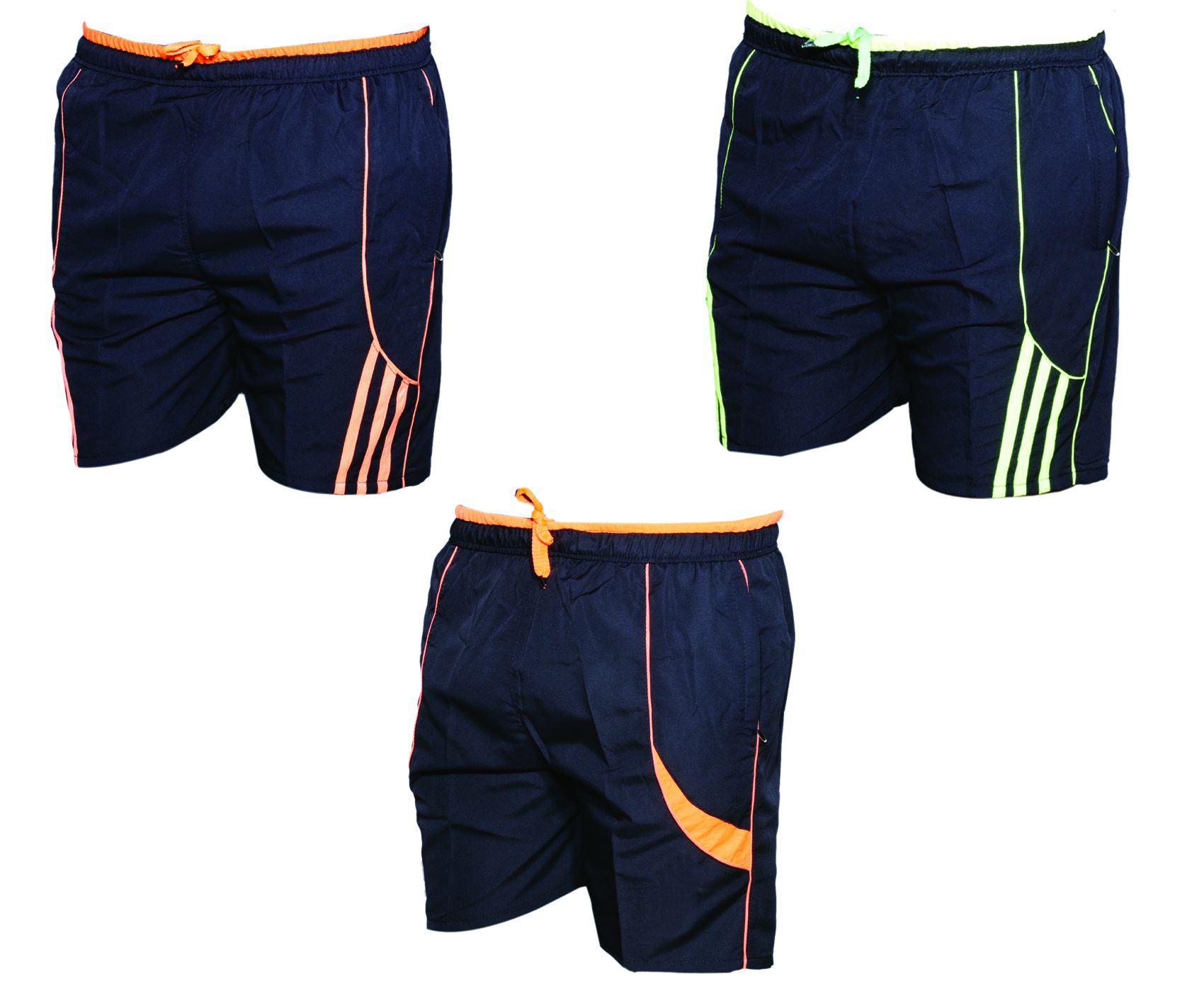 IndiWeaves Multi Shorts (Pack  of 3 Polyester Bermuda)