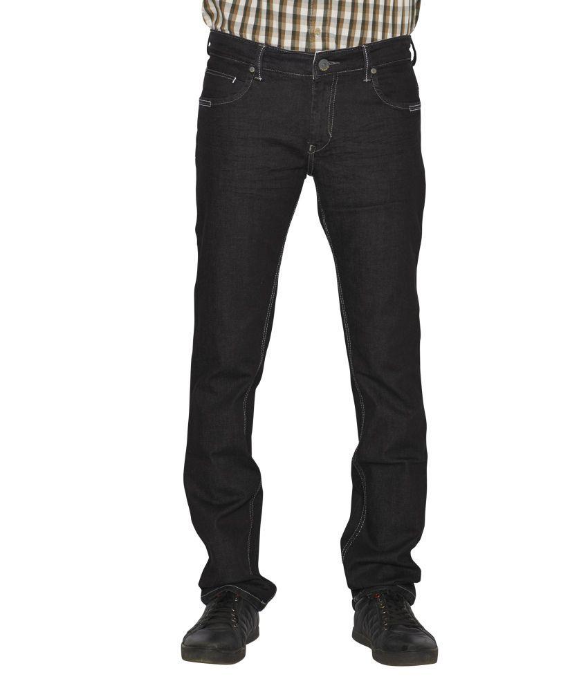 Flags Black Slim Jeans