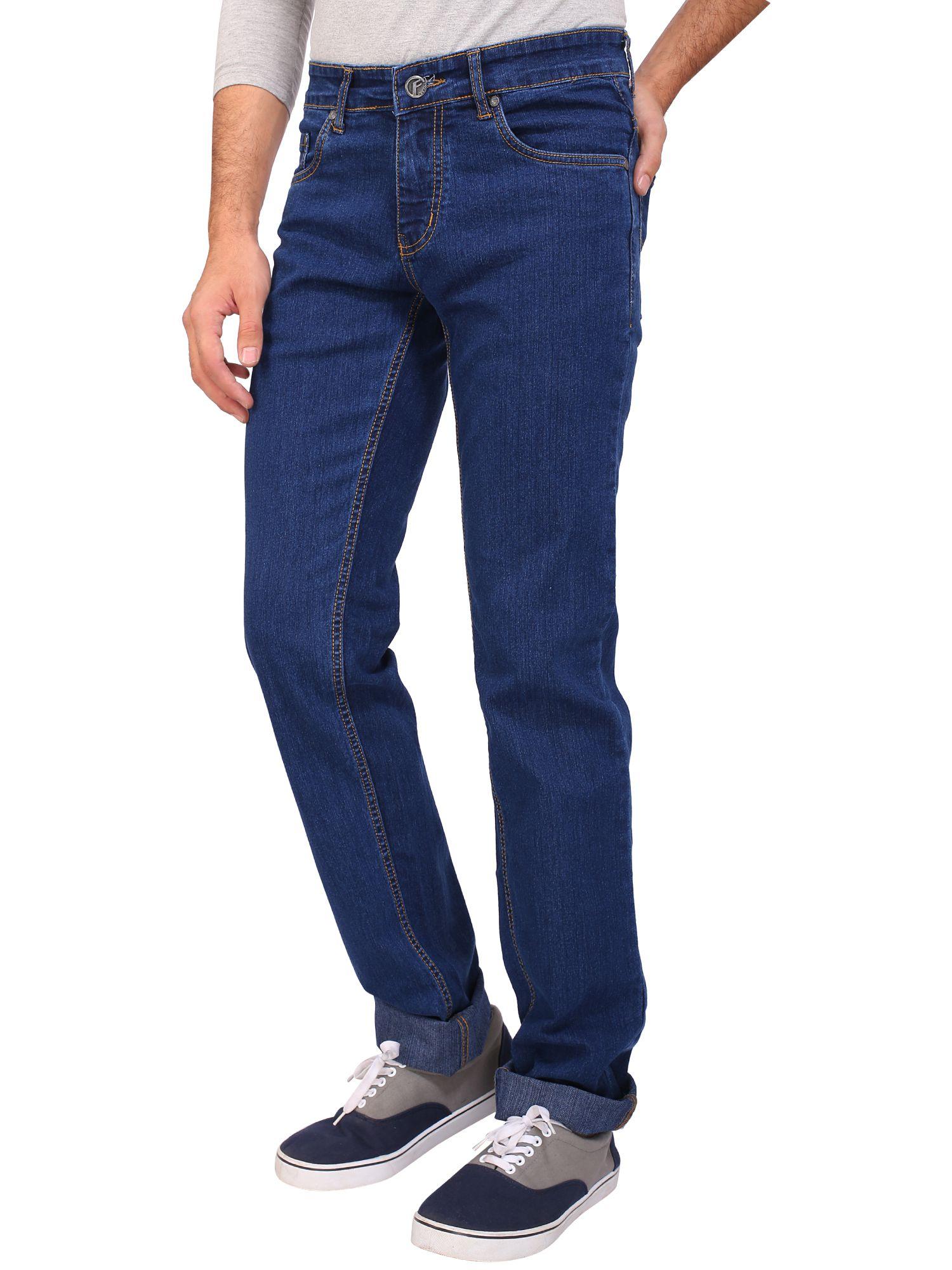 Flags Blue Regular Fit Jeans