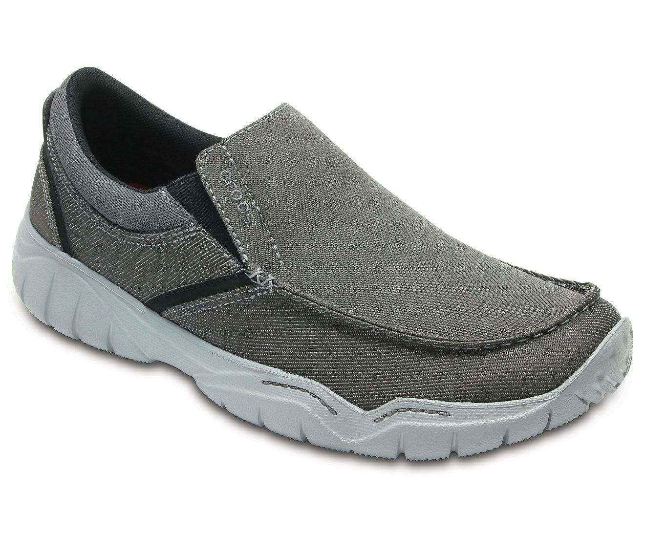 Crocs Swiftwater Casual Slip on Outdoor Gray Casual Shoes - Buy Crocs  Swiftwater Casual Slip on Outdoor Gray Casual Shoes Online at Best Prices  in India on ... 826785baec5