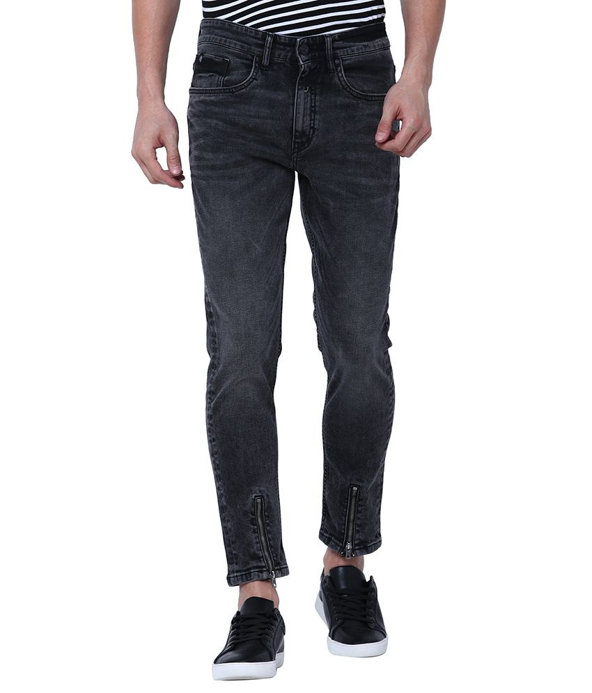 Locomotive Black Relaxed Jeans