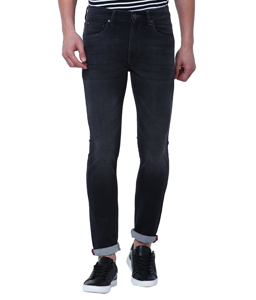Locomotive Black Slim Jeans