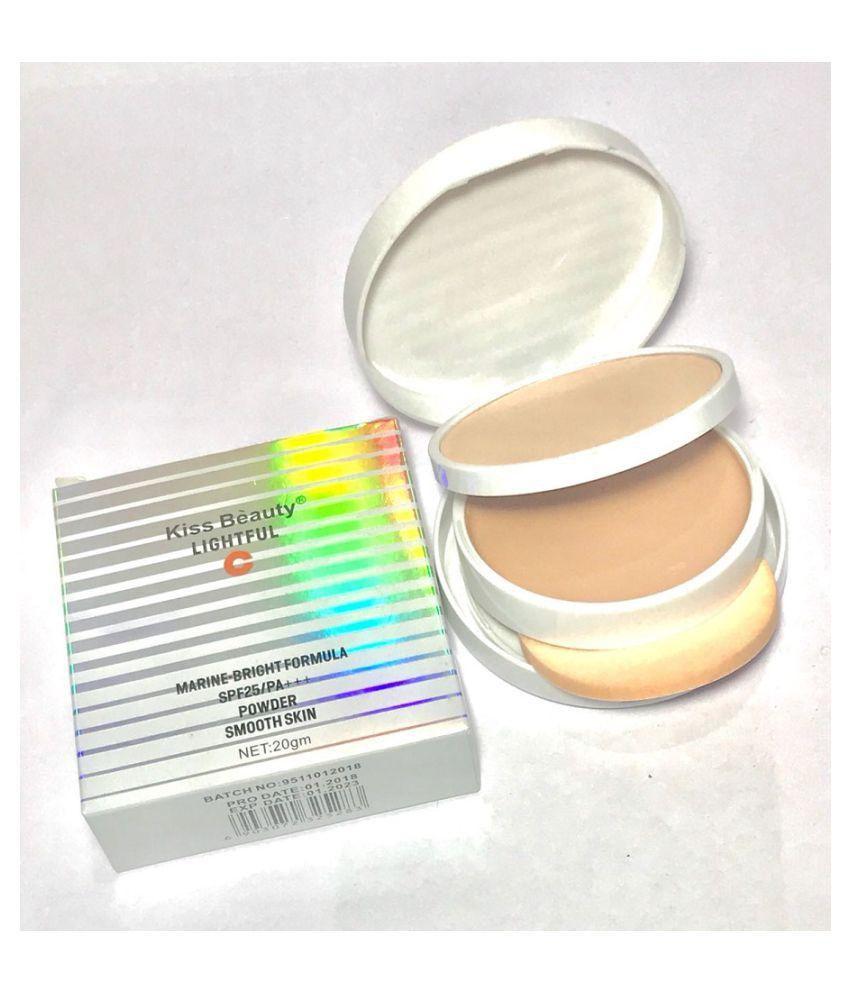 Kiss Beauty Pressed Powder Lightful Skin Powder SPF25/PA 20 gm