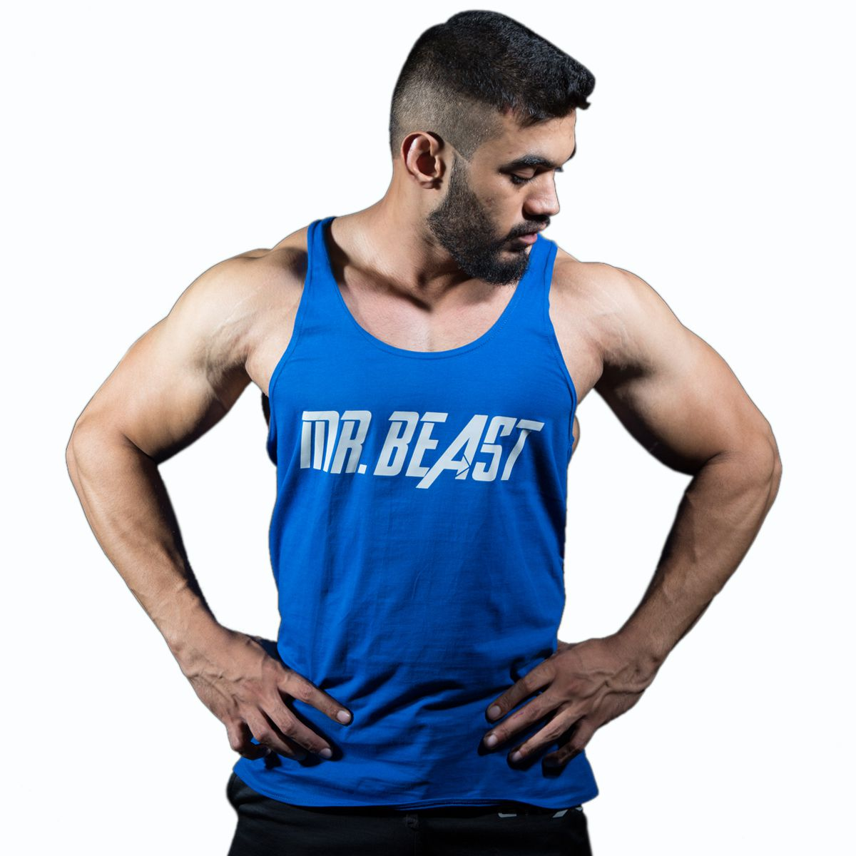 GymX Mens Mr. Beast Stringer- Classic Series (Size:Large)
