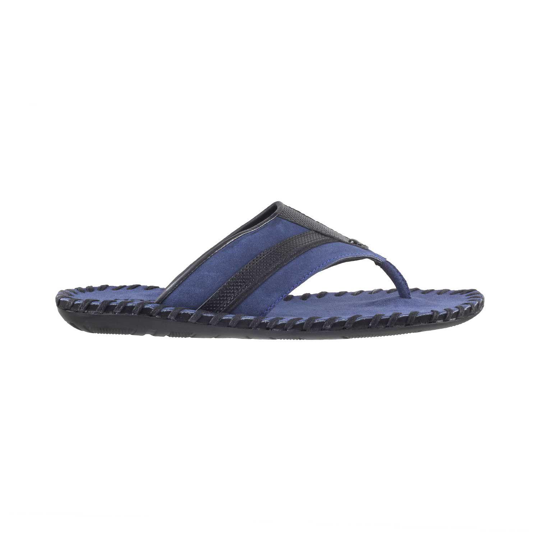 0c7efe7d6 MOCHI Mochi Men Blue Suede Thong BLUE Sandals Price in India- Buy ...