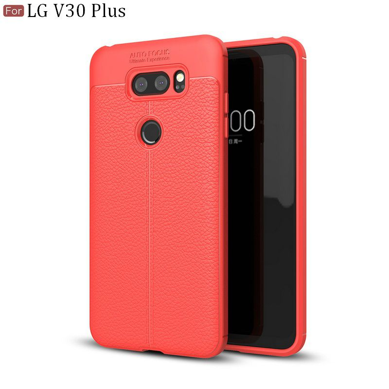 Lg V30+ Soft Silicon Cases Wow Imagine - Red