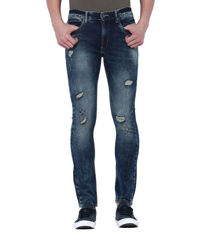 Locomotive Dark Blue Slim Jeans