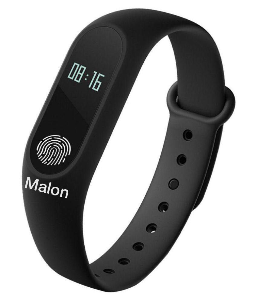 MALON M2 Waterproof Fitness Smart Band (Compatible with all Android & IOS Devices)