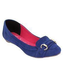 Catwalk Blue Ballerinas