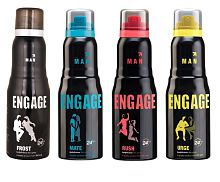 Engage men best flavored collection pack of four