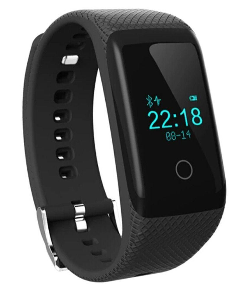 Flipfit 3d Pedometer Black Heart Rate Monitor Wristband