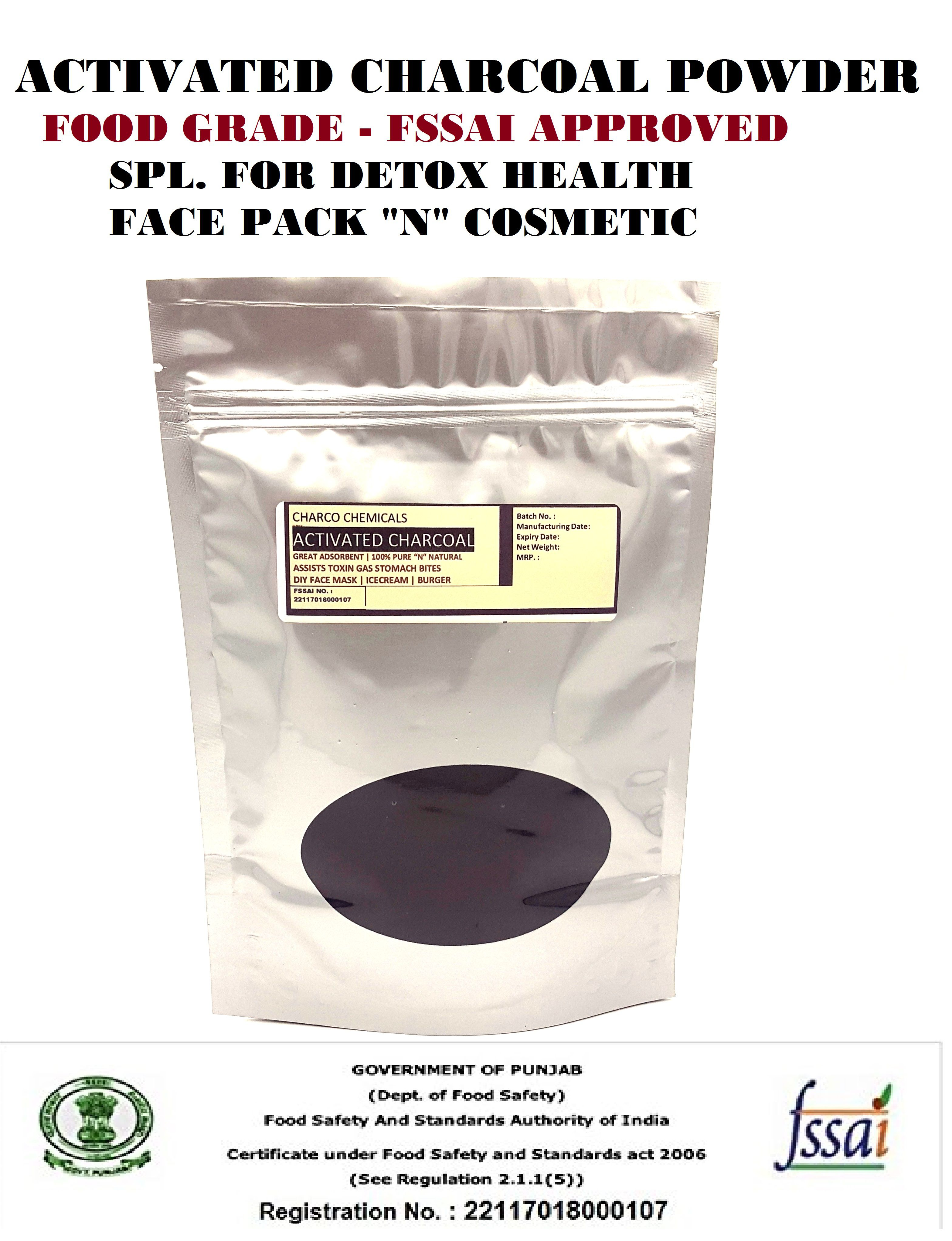 charco chemicals activated charcoal powder fssai approved isi