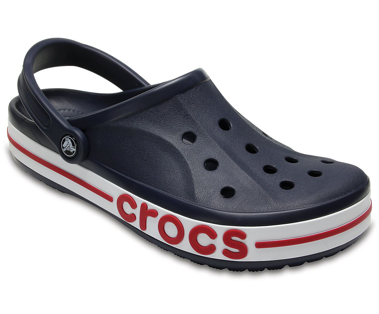 6989f8a70182 Crocs Bayaband Navy Floater Sandals - Buy Crocs Bayaband Navy ...