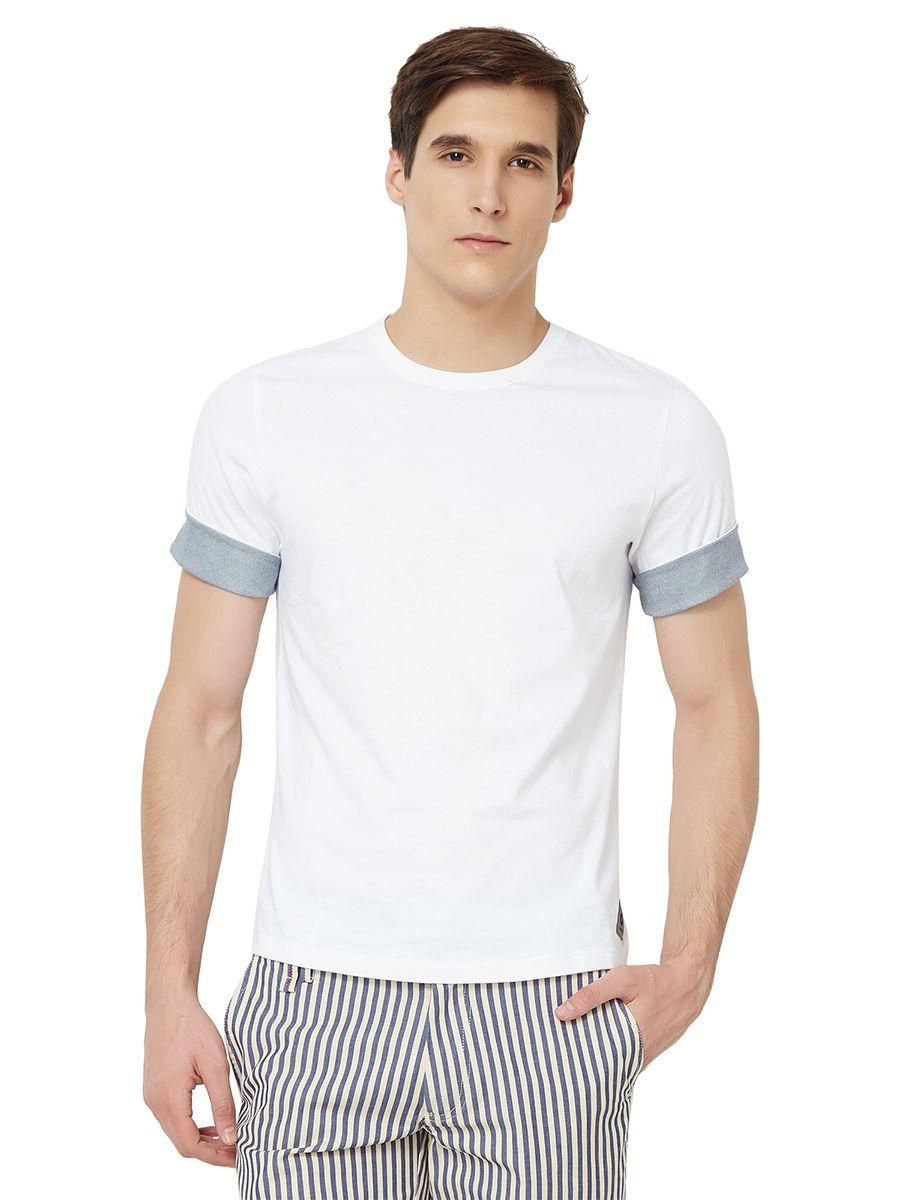 Hammock White Round T-Shirt Pack of 1