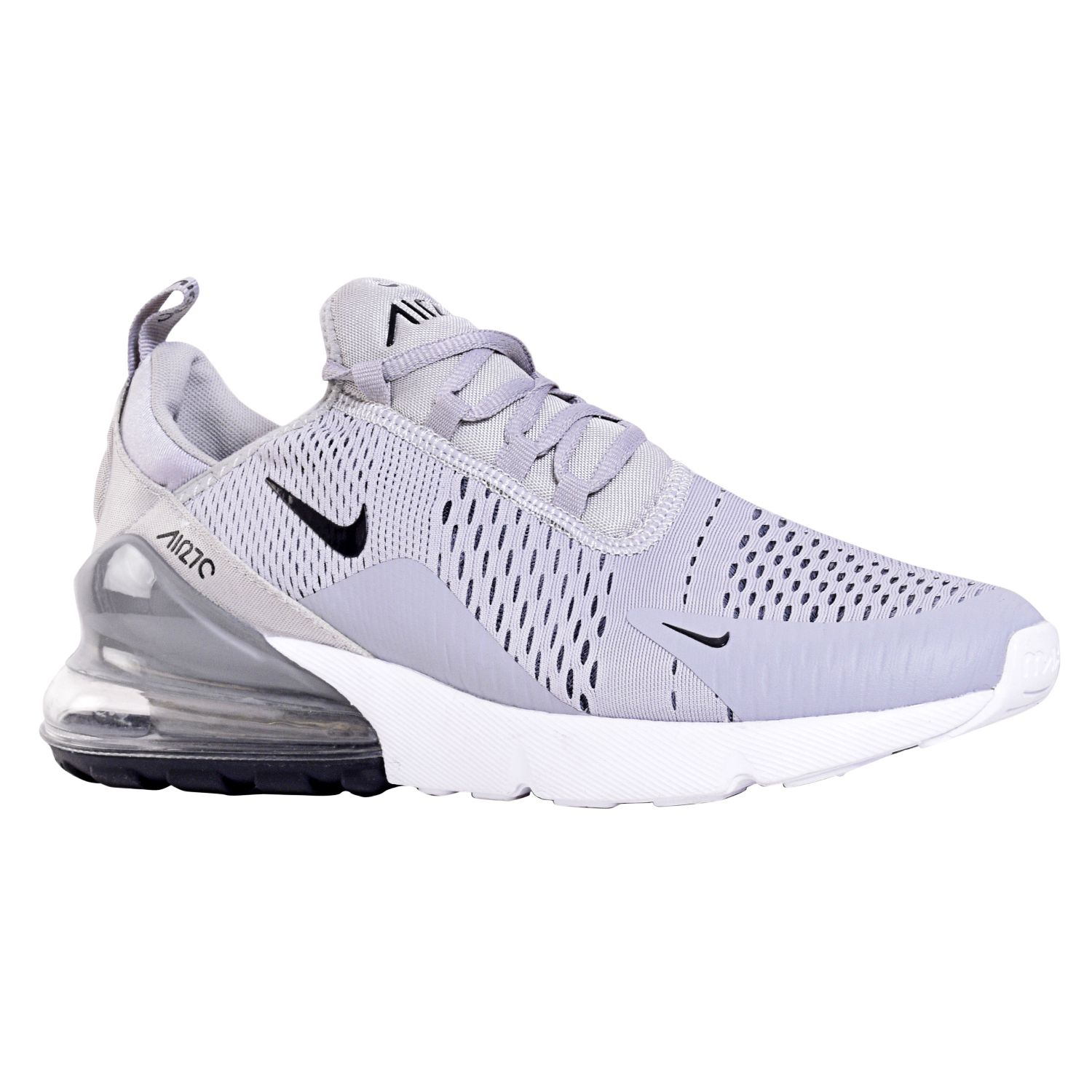 outlet store aa03b 7dde1 Nike AIR MAX 270 Silver Running Shoes