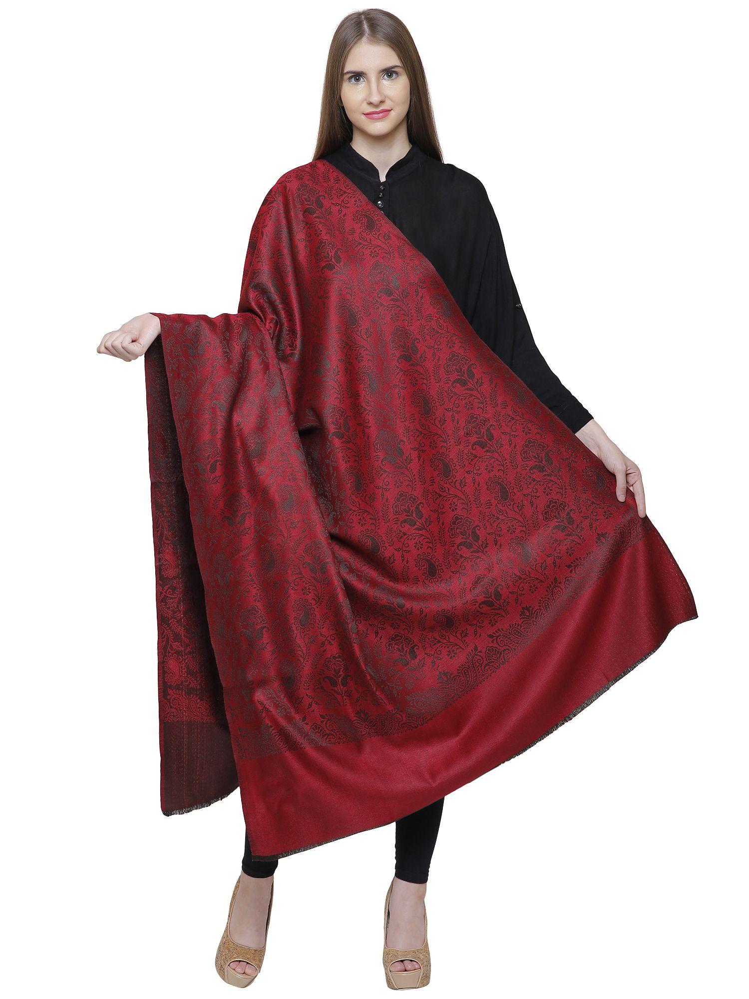 Shawl-e-Kashmir Red Shawl