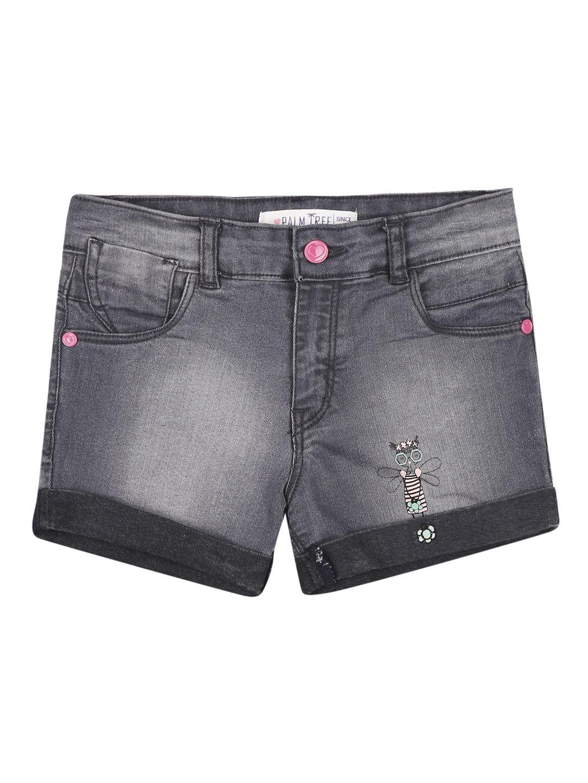 Palm Tree Blue  Shorts