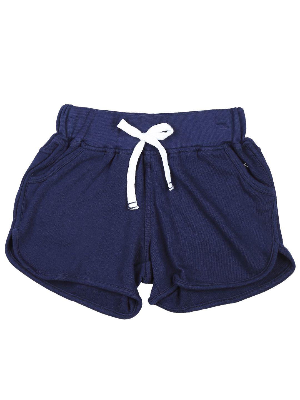 Palm Tree Dark Blue  Hot Shorts