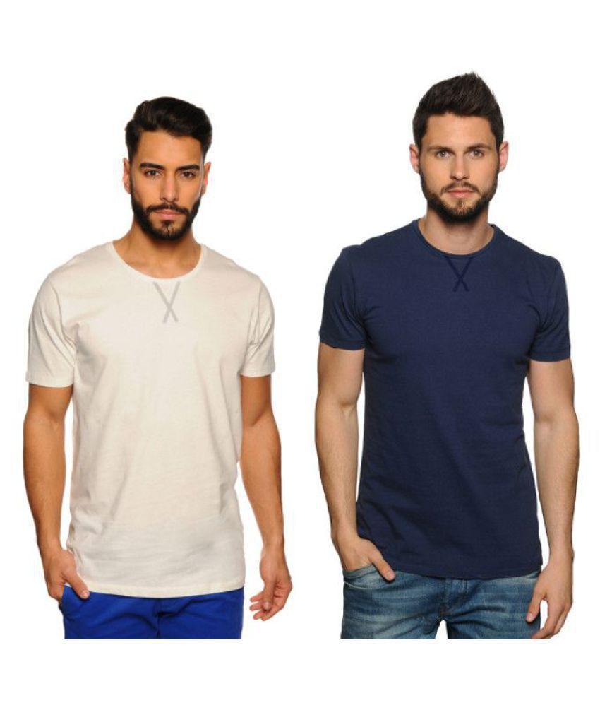 Zachi Blue Round T-Shirt