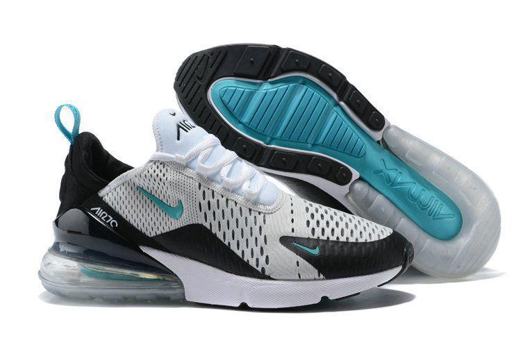 Nike 2018 Airmax 270 White Blue Running Shoes - Buy Nike 2018 Airmax ... dec59f806fc9