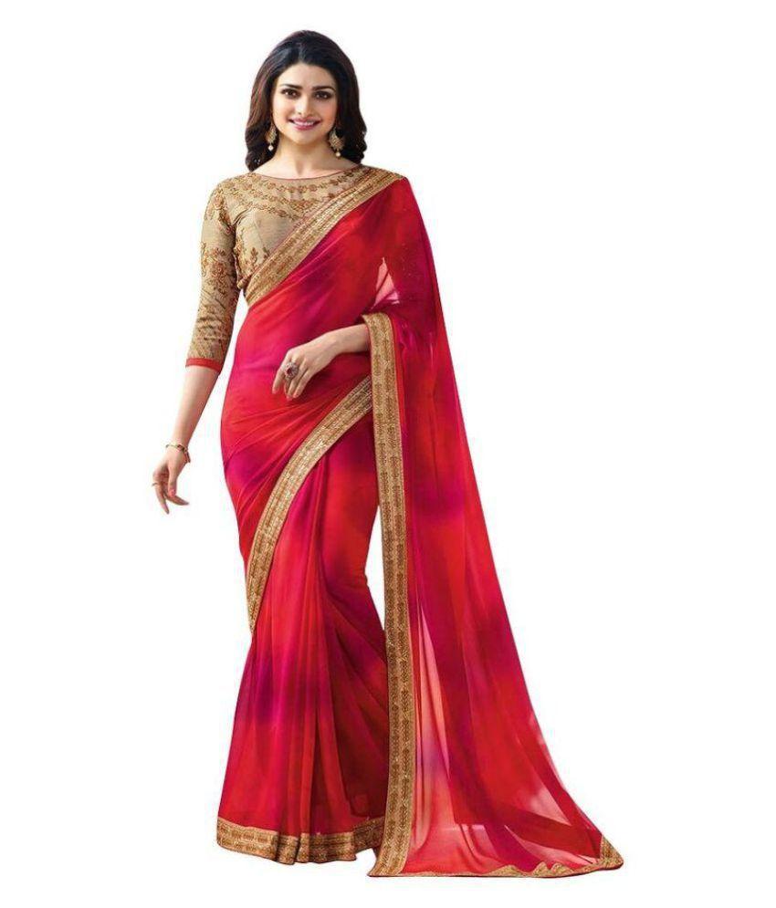 Saree Designer sari sadi Green Art Silk Saree