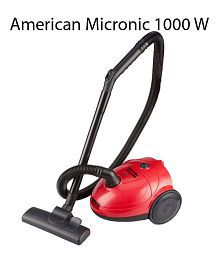 American Micronic High Pressure Vacuum Cleaner (Red Color)