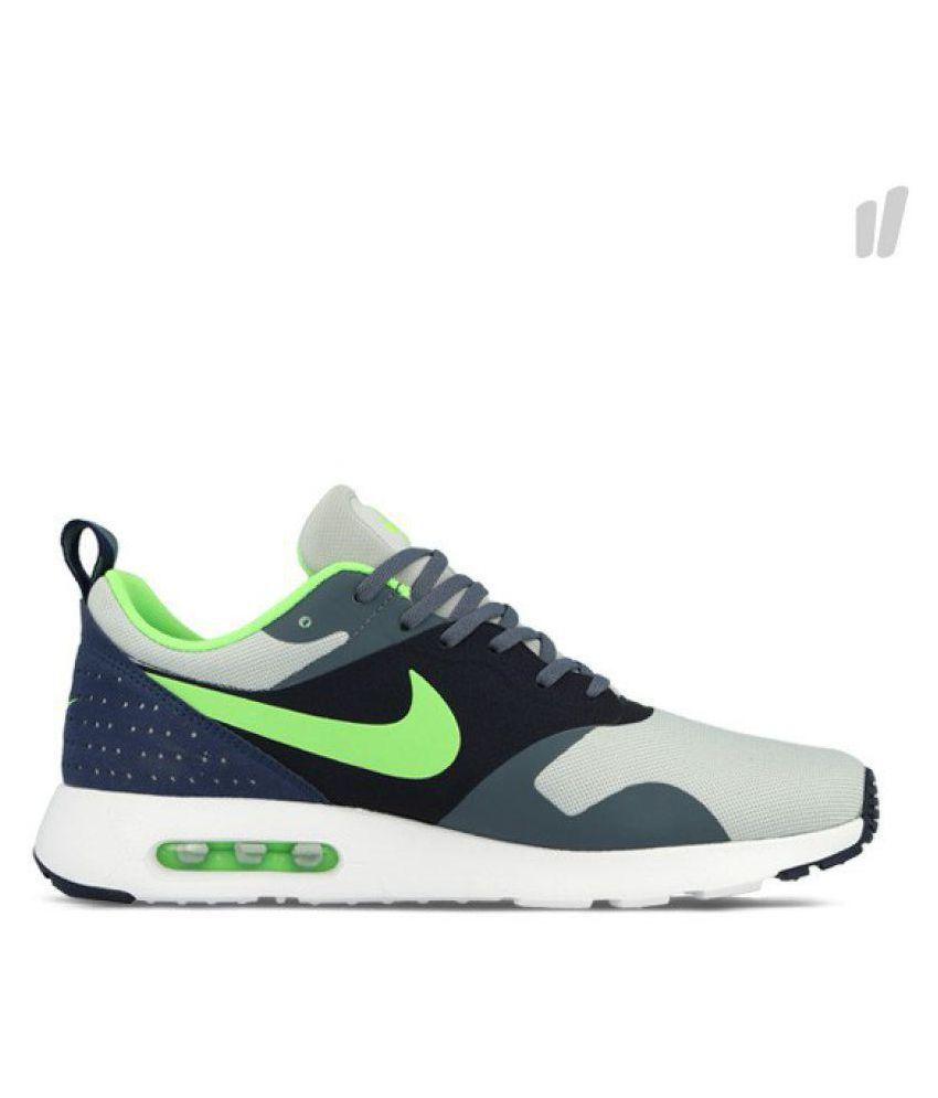 f9fb92467279 Nike Air Max Tavas Gray Running Shoes - Buy Nike Air Max Tavas Gray ...