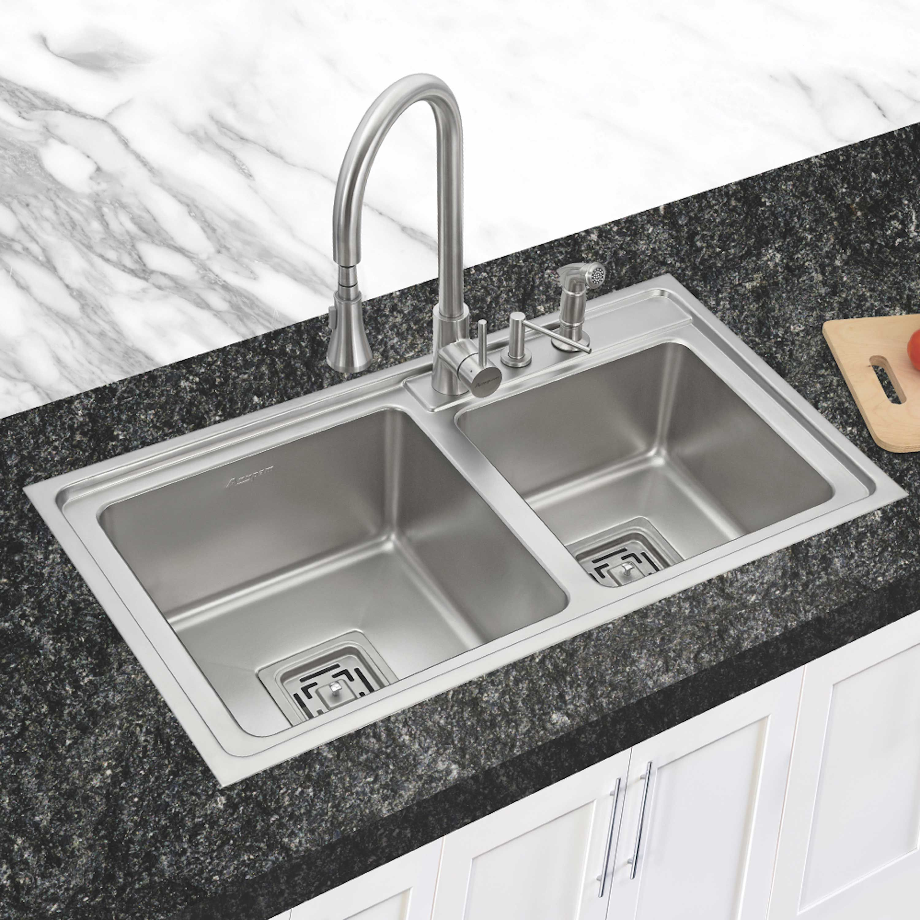 Phenomenal Anupam Stainless Steel Double Bowl Sink Without Drainboard Interior Design Ideas Truasarkarijobsexamcom