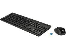 HP 200 Black Wireless Keyboard Mouse Combo