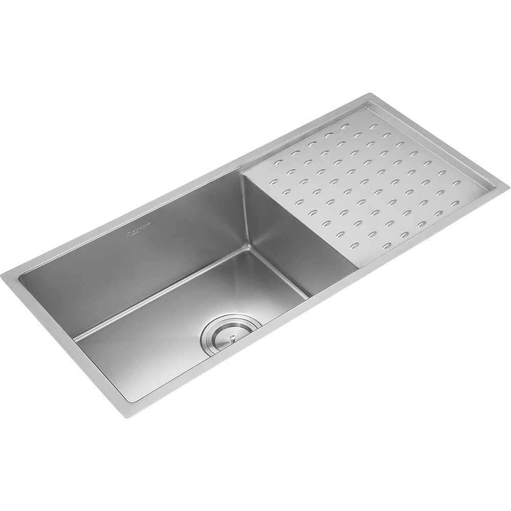 Buy Anupam Stainless Steel Single Bowl Sink With Drainboard Online
