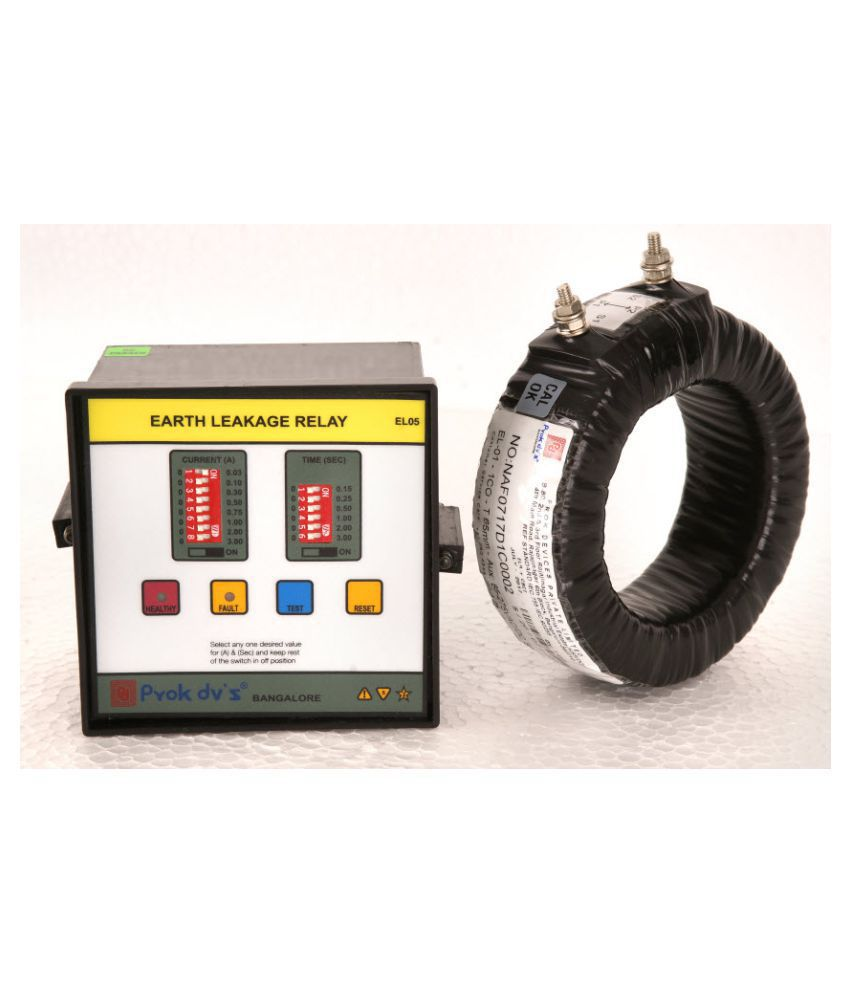 Buy Earth Leakage Relay Online At Low Price In India Snapdeal Switch