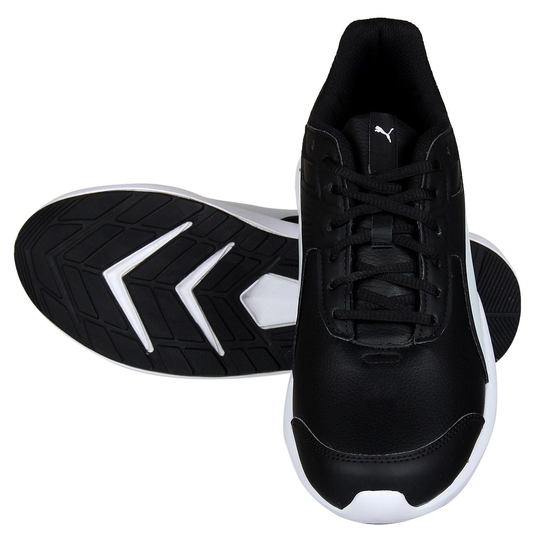 Puma Men Escaper SL Black Running Shoes - Buy Puma Men Escaper SL ... 2b154bcc6