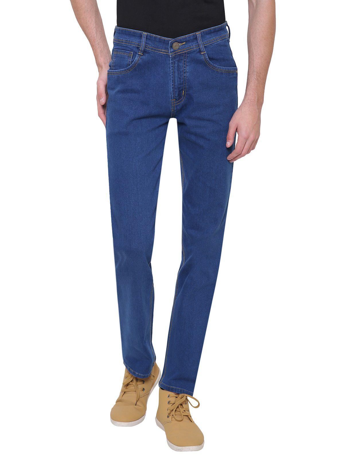 gradely Blue Regular Fit Jeans