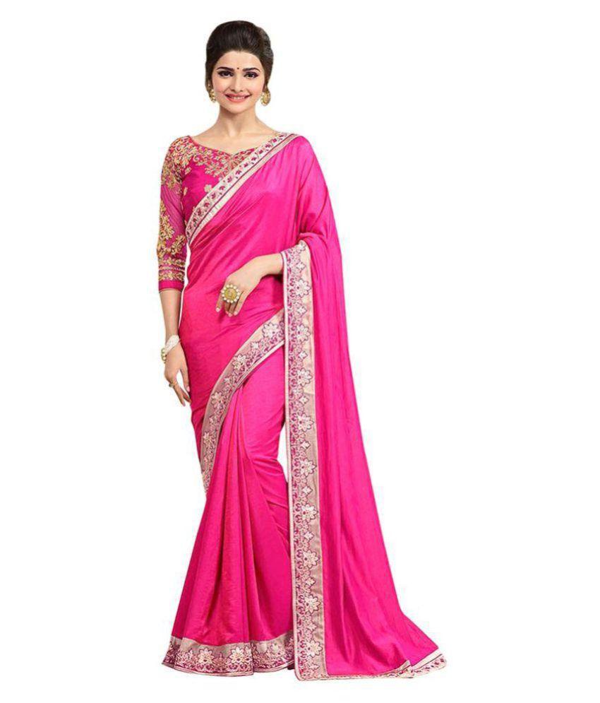 Saree sarees sari saris Multicoloured Chiffon Saree