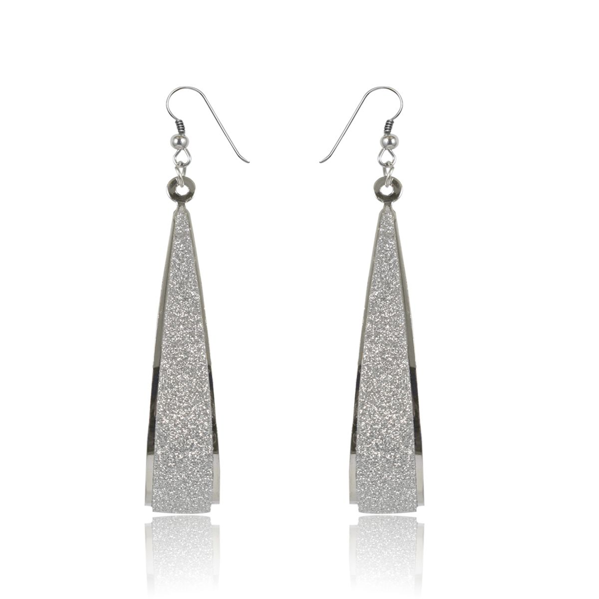 Slamay Fashion Silver Plated Earring Gift for Girl