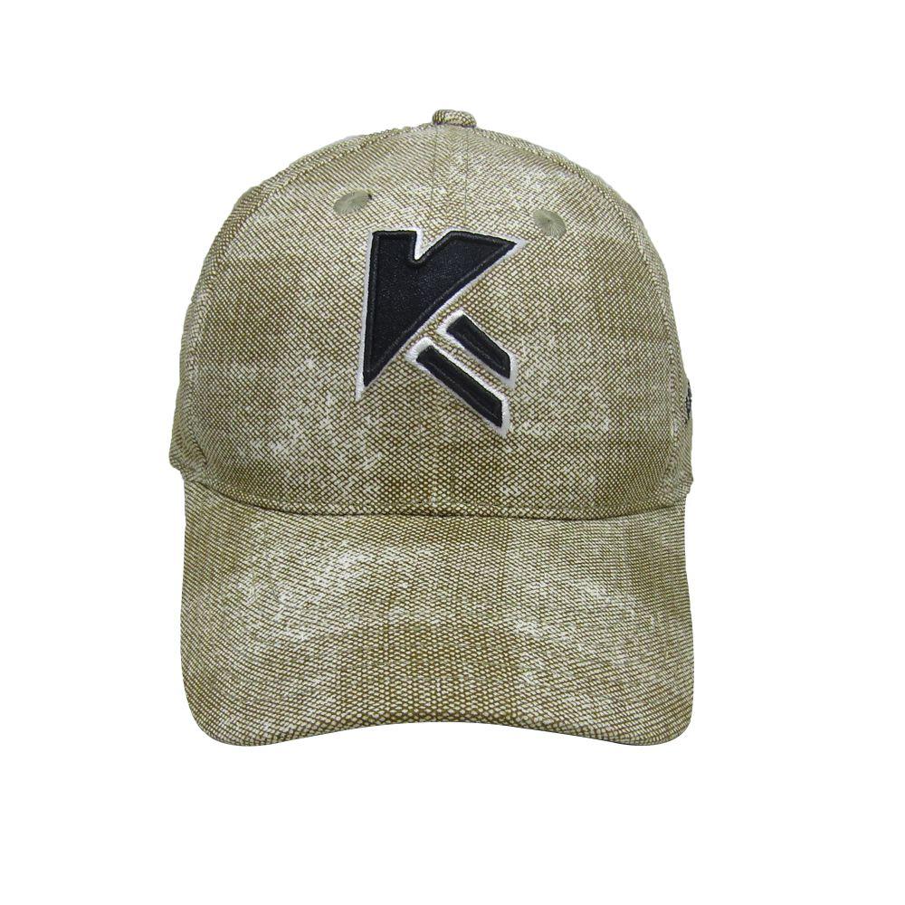 Kapture Headwear Beige Cotton Caps