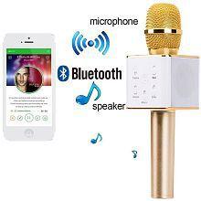 Portable Wireless Bluetooth Karaoke Mic