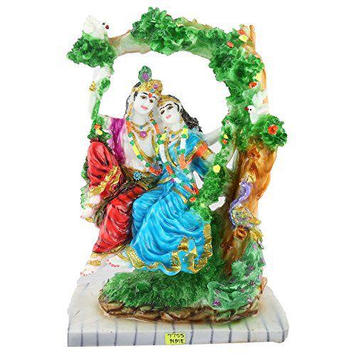 Avighna Radha Krishna Polyresin Idol