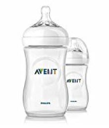 avent natural feeding bottle 330ml (pk-2)