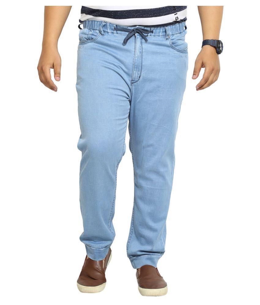 John Pride Light Blue Regular Fit Jeans