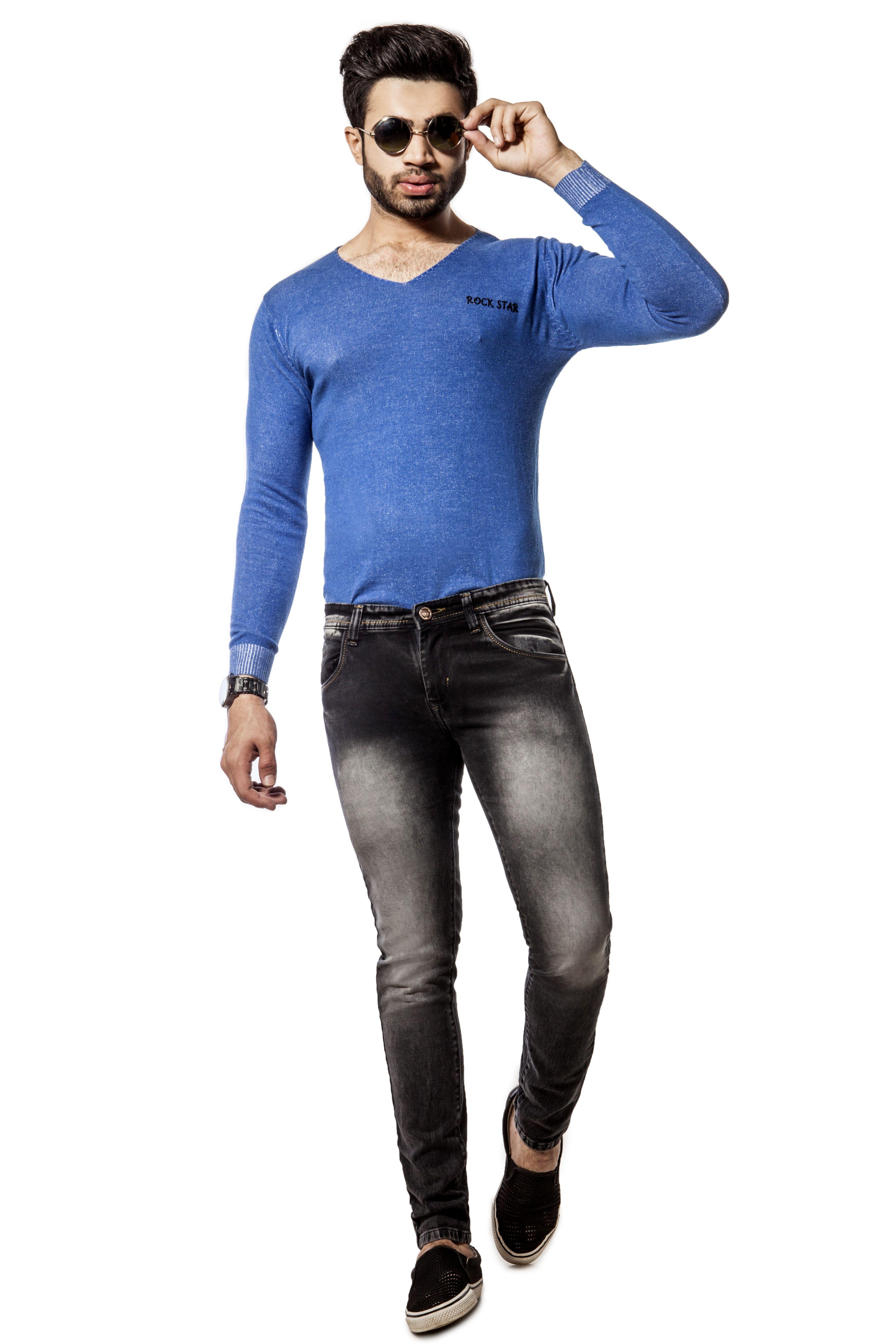 Zed Max Black Slim Jeans