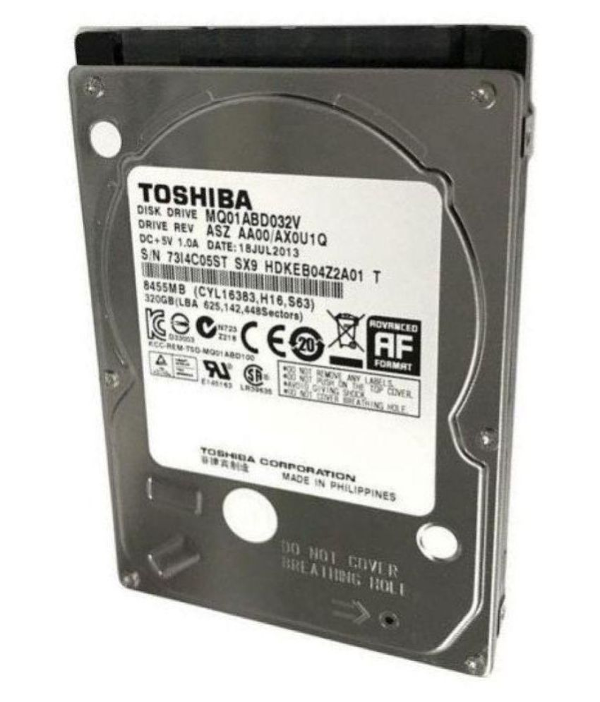 Toshiba MQ01ABD032 320 GB Internal Hard Drive Internal Hard drive