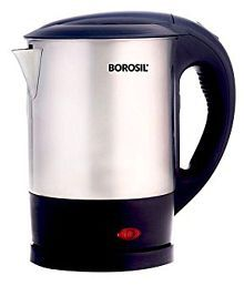 Borosil EVA SS KETTLE 1L 1 Liters 1300 Watts Stainless Steel Electric Kettle