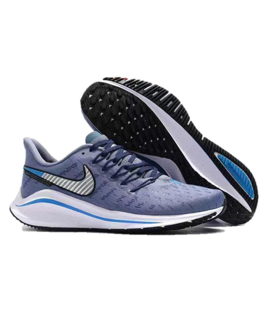 buy online b7018 b6569 Nike AIR ZOOM VOMERO 14 Running Shoes Blue
